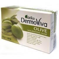 Dabur - Мыло Оливковое Vatika Dermoviva Naturals Olive Nourishing - 115 g (D05265)