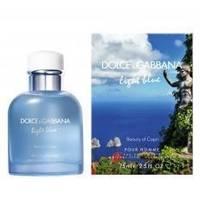 Dolce Gabbana Light Blue  Beauty of Capri Pour Homme - туалетная вода - 40 ml