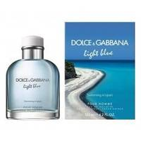 Dolce Gabbana Light Blue Swimming In Lipari - туалетная вода - 75 ml