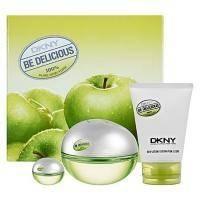 Donna Karan DKNY Be Delicious -  Набор (парфюмированная вода 100 ml + лосьон-молочко для тела 100 ml + mini 7 ml)