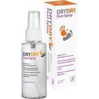 Dry Dry (Драй Драй) Foot Spray - Дезодорант-спрей для ног от обильного потовыделения - 100 ml