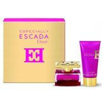 Escada Especially Elixir - Набор (парфюмированная вода 75ml + лосьон-молочко для тела 50ml)