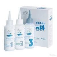 Estel Professional - Эмульсия для удаления краски с волос COLOR off - 3x120ml (C/F)
