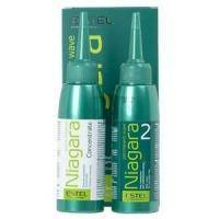Estel Professional - Набор для химической завивки для нормальных волос  Niagara Permanent Wave (Фиксаж-перманент 100ml + Био-перманент для нормальных волос №2 100ml + перчатки) (NN/2)