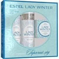 Estel Professional  - Набор Lady Winter (Шампунь 250ml + Бальзам-маска 200ml + Горячий лед для душа 60ml) (LW/N1)