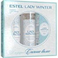Estel Professional - Набор Сияние волос Lady Winter (шампунь 250ml + бальзам-маска 200ml + Спрей-сияние для волос100ml) (LW/N3)