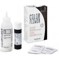 Euphytos - Краска для волос ColorFlower №3 Dark Brown - 120 ml
