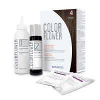 Euphytos - Краска для волос ColorFlower №4 Brown - 120 ml
