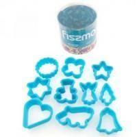 Fissman - Набор из 10 мини формочек для вырезания печенья (AY-7468.BW)