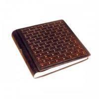 Florentia - Альбом для фото кожаный Сиена - 35x35 см