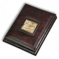 Florentia - Блокнот кожаный Леонардо - 18x22 см