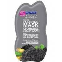 Freeman - Маска для лица Уголь Черный сахар Feeling Beautiful Facial Polishing Mask Charcoal Black Sugar - 15ml (FB 41111)