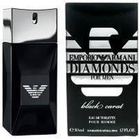 Giorgio Armani Emporio Armani Diamonds Black Carat for Him - туалетная вода - 50 ml