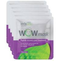 Institute Hyalual - Гидрогелевая пептидная маска для лица WOW mask - 5 шт.