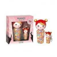 Kokeshi Parfums Litchee By Jeremy Scott  - Набор (туалетная вода 50 ml + mini 5 ml + брелок для ключей)