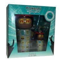 Kokeshi Parfums Tonka By Jeremy Scott - Набор (туалетная вода 50 ml + mini 5 ml + кольцо для ключей)