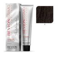 Краска для волос Revlon Professional Revlonissimo Colorsmetique №4  Medium Brown/Коричневый - 60 ml