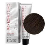 Краска для волос Revlon Professional Revlonissimo Colorsmetique №6.12 Dark Pearly Blonde/Темный блондин пепельно-переливающийся - 60 ml