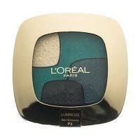LOreal - Тени для век 4-цветные компактные - Color Riche Quad Eye Shadow №P3 - 4.5 g