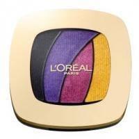 LOreal - Тени для век 4-цветные компактные - Color Riche Quad Eye Shadow №S3 - 4.5 g