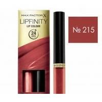 Max Factor - Помада для губ стойкая+бальзам LipFinity №215 - 2.3ml+1.9g