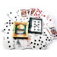 Настольная игра - Карты игральные пластиковые - 10х9х2,1 см (арт. 18881)