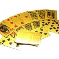 Настольная игра - Карты игральные Золото (арт. 26755)