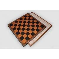 Nigri Scacchi - Коричневая доска-бокс коричневая Box marrone - Доска 48x48x4 см (CD48)