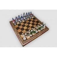 Nigri Scacchi - Шахматные фигуры Battaglia di Borodino (Medium size) - Бородинское сражение - Фигуры 8-10 см (SP1812)