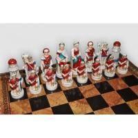 Nigri Scacchi - Шахматные фигуры Battaglia di Cleopatra (small size) - Клеопатра - Фигуры 6-8 см (SP91)