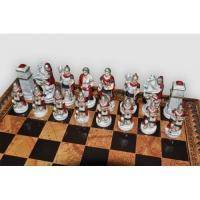 Nigri Scacchi - Шахматные фигуры Battaglia Romani barbari (small size) - Бой римлян с варварами - Фигуры 6-8 см (SP34.35)
