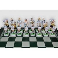 Nigri Scacchi - Шахматные фигуры Calcio Dinamo-Shakhtar (small size) - Футбол Динамо-Шахтер - Фигуры 6-8 см (SP202)