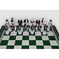Nigri Scacchi - Шахматные фигуры Gettysburg nord-sud (small size) - Битва при Геттисберге - Фигуры 6-8 см (SP94)