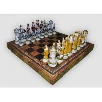 Nigri Scacchi - Шахматные фигуры Giostra medievale (big size) - Средневековый рыцарский турнир - Фигуры 9,5-13 см (SP12)