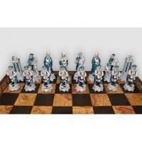 Nigri Scacchi - Шахматные фигуры Luigi XIV (medium size) - Людовик XIV - Фигуры 8-10 см (SP47)