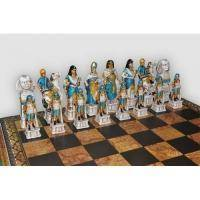 Nigri Scacchi - Шахматные фигуры Romani Egiziani (medium size) - Римляне и египтяне - Фигуры 8-10 см (SP88)