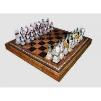 Nigri Scacchi - Шахматные фигуры Romani Egiziani (small size) - Римляне и египтяне - Фигуры 6-8 см (SP10)