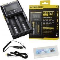 Nitecore - Зарядное устройство Digicharger D2 - Черный