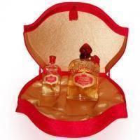 Новая Заря Красная Москва - Набор ( духи 50 ml + одеколон 100 ml) (Vintage прикручивающиеся крышки)