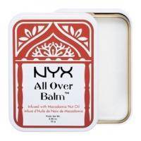 NYX - Бальзам для губ и тела с маслом ореха макадами All Over Balm Macadamia Nut Oil - 25g (AOB03)