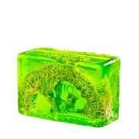 Organique - Глицериновое мыло куб Киви и Люфа Soaps - 100 G (101491W)