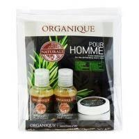 Organique - Мини набор Naturals Pour Homme (шампунь 50ml + гель для душа 50ml + бальзам после бритья 30ml) (418082Z)