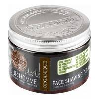 Organique - Мыло для бритья Naturals Pour Homme Face Shaving Soap - 150 ml (101815W)