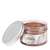 Organique - Разглаживающий сахарный пилинг для тела шоколадный Spa Therapie Peeling - 450 ml (303106T)