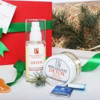 Piel Cosmetics -  Комплекс Детокс ( Выводящая токсины крем-маска пилинг DETOX 50ml + Регенерирующий крем с пиллинг-эффектом DETOX 50ml) (Арт.  SPM05)