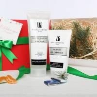 Piel Cosmetics -  Комплекс Очищение и свежесть для мужской кожи лица и тела. Базовый комплекс 2. (Арт. MN004)