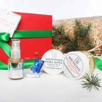 Piel Cosmetics - Комплекс Увлажнение и восстановление для тусклой кожи (Регенерирующая маска-гель Regeneration 50ml + Эликсир-сыворотка Mesorpof 30ml + Крем для лица Hydra-Repair 50ml) (Арт. MG005)