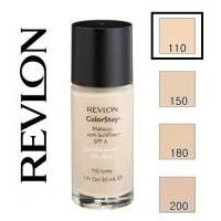 Revlon - Тональный крем стойкий для комбинированной/жирной кожи Colorstay Makeup with Softflex №110 Ivory
