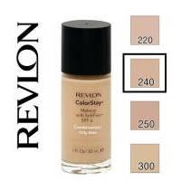 Revlon - Тональный крем стойкий для комбинированной/жирной кожи Colorstay Makeup with Softflex №240 Medium Beige