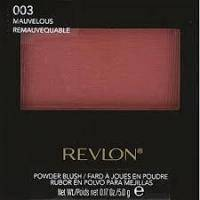 Румяна для лица с зеркалом Revlon - Powder Blush №003 Mauvelous/Розово-сиреневый
